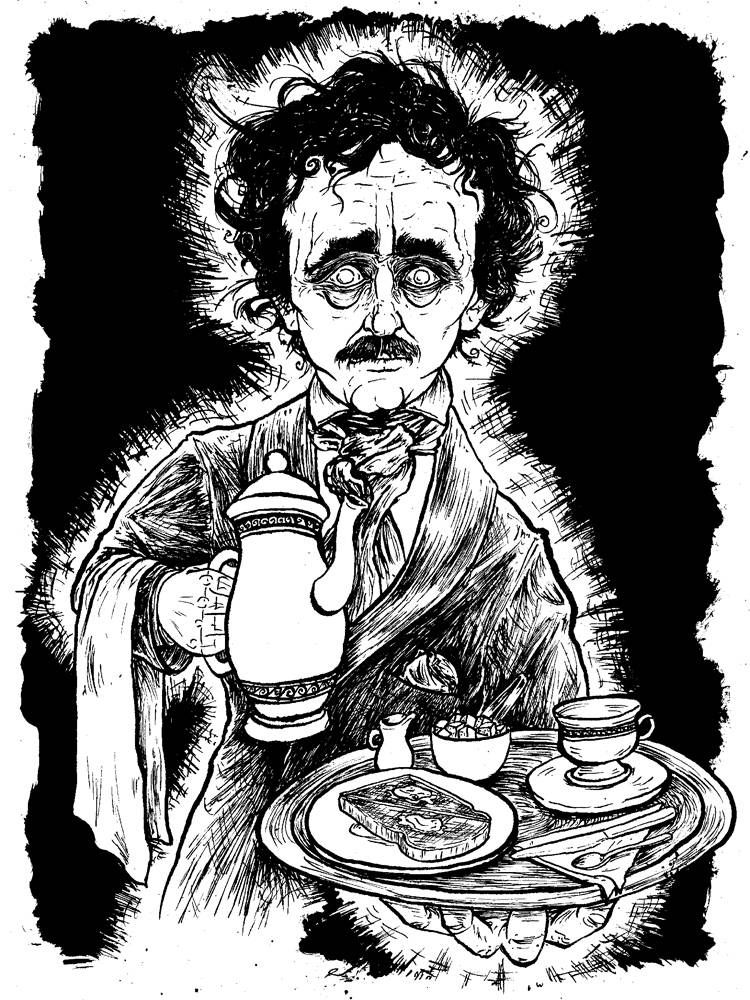 The Ghost of Edgar Allen Poe