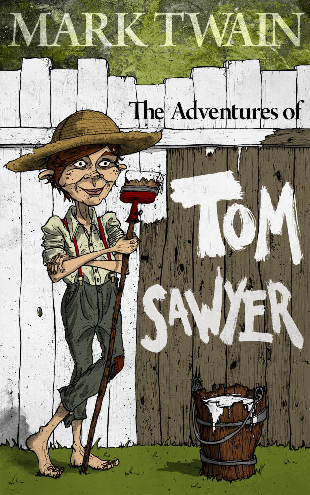 Book Cover for Mark Twain's Adventures of Tom Sawyer