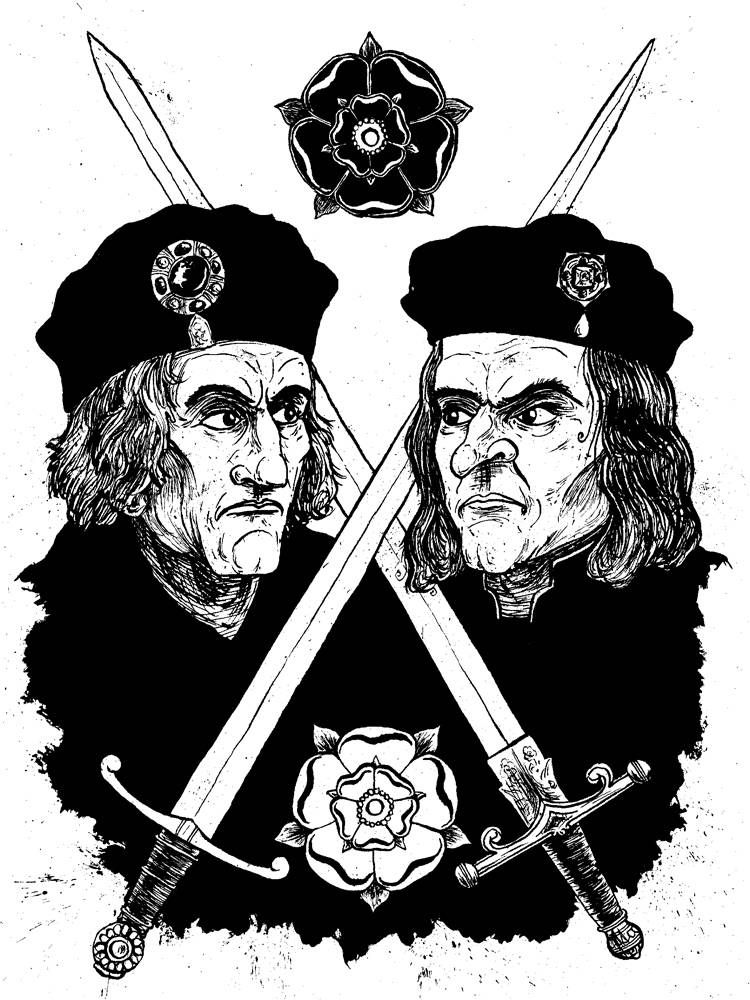 Richard iii and henry vii crossed swords in war of the roses